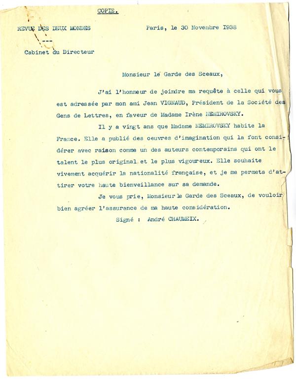 lettre de motivation naturalisation decret