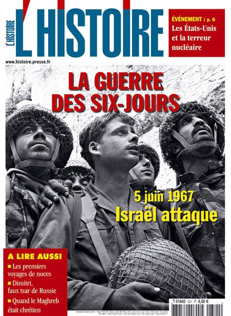 Cliquez pour agrandir la couverture du magazine l'histoire