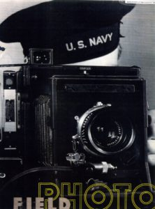 Un photographe de la Naval Field Photographic Reserve, s.d. © National Archives, Washington D.C.