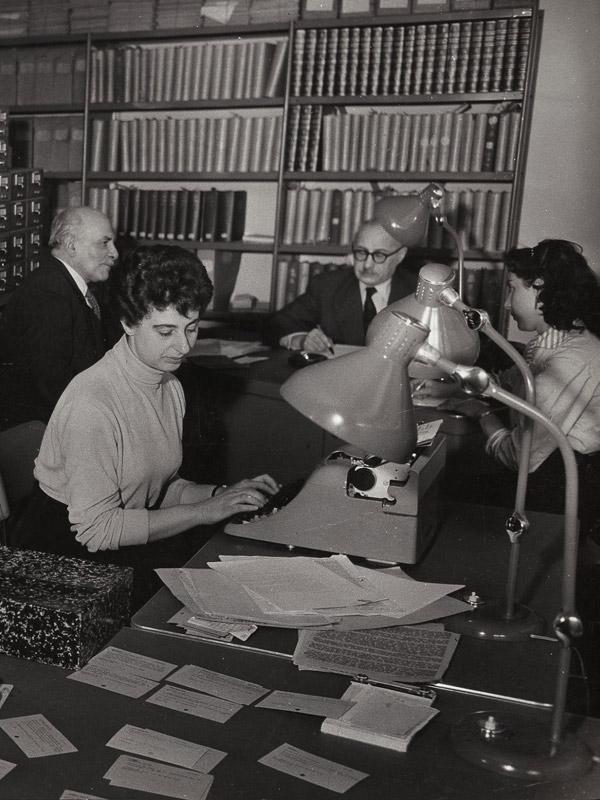 Centre de documentation Mémorial Shoah 1953