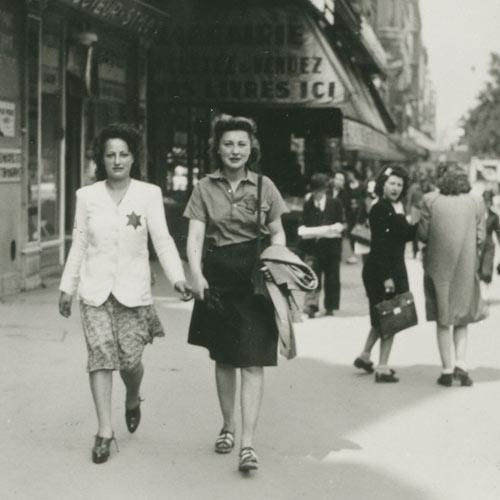 femmes juives Grands Boulevards 1942