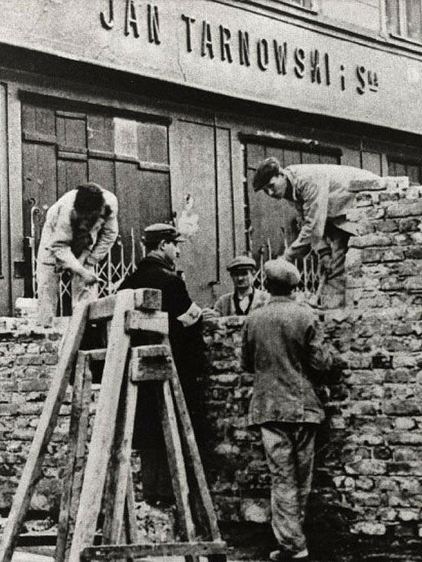 ghetto de Varsovie Mémorial de la Shoah