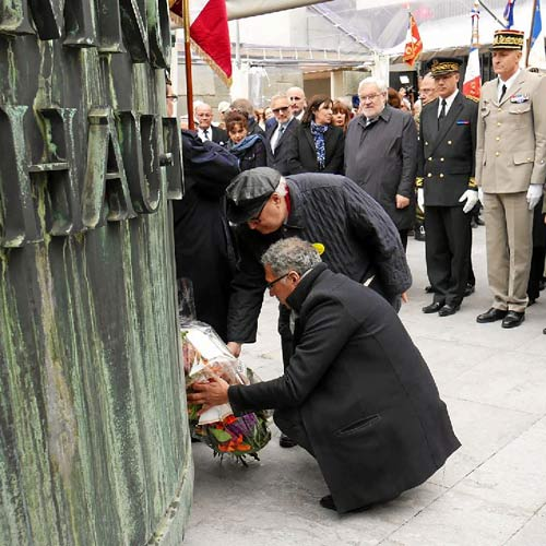 journée nationale déportation Mémorial Shoah
