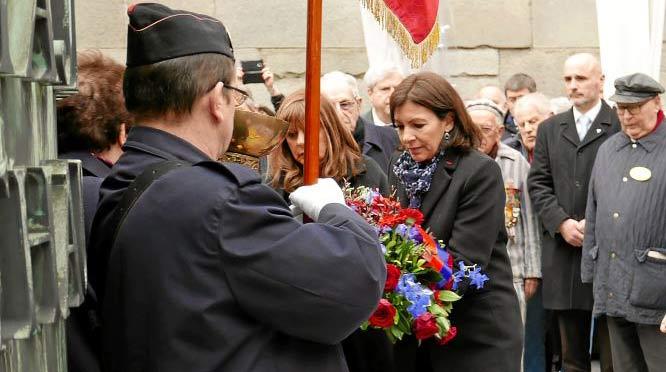 Anne Hidalgo Mémorial Shoah Journée Déportation