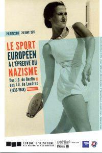 exposition sport shoah nazisme Lyon Mémorial
