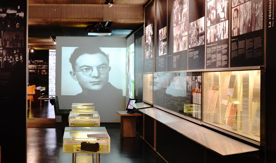 exposition permanente Mémorial de la Shoah