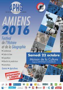 Festival de l'Histoire et de la Géographie Amiens 2016
