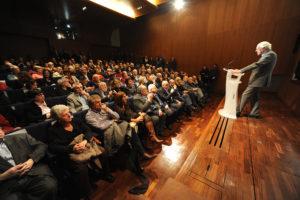 inauguration exposition après la Shoah