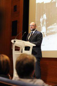 inauguration exposition après la Shoah Martin Schulz