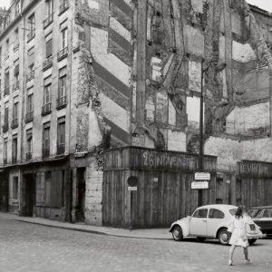 © 2 à 6 rue de Jouy, Paris 4e, 28 juin 1970, Pavillon de l'Arsenal, n°21610.