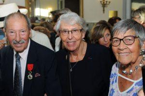 Gabriel Benichou, Yvette Levy et Ginette Kolinka, survivants et témoins de la Shoah