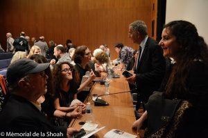 Journées du patrimoine 2016 au Mémorial de la Shoah