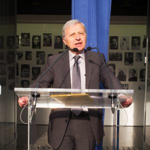 Discours d'André Kaspi le 9 octobre 2016 au Mémorial de la Shoah © Pierre-Emmanuel Weck