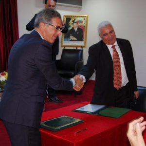 Jacques Fredj Jamaâ Baïda convention Maroc