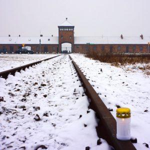 Vue d'Auschwitz-Birkenau. © Mémorial de la Shoah.