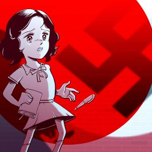 Anne Frank au pays du manga (Les Arènes/Arte éditions) © Guillaume Podrovnik