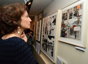 audrey azoulay, ministre, exposition, Shoah, bande dessinée
