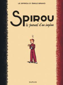 Couverture de l'album « Le Spirou d'Émile Bravo » Le Journal d'un ingénu. Bravo © Dupuis