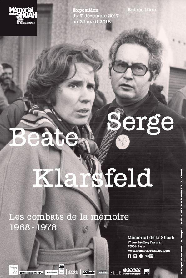 affiche expo klarsfeld