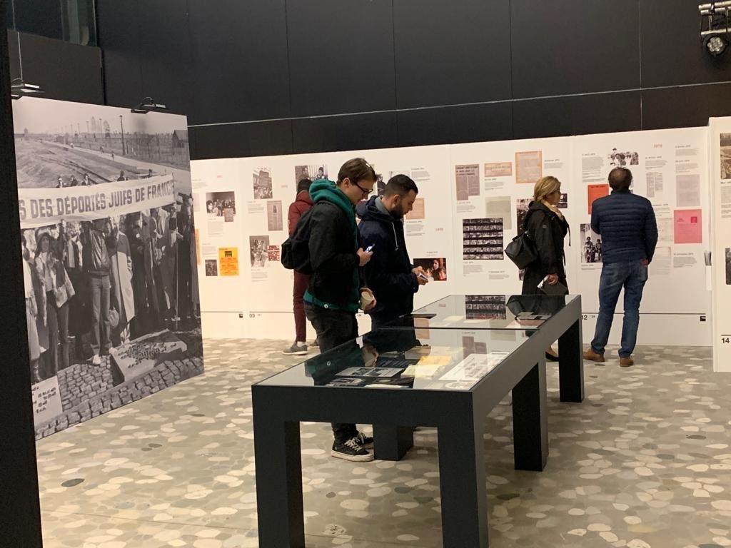 L'exposition « Beate et Serge Klarsfeld, les combats de la Mémoire 1968-1978 »