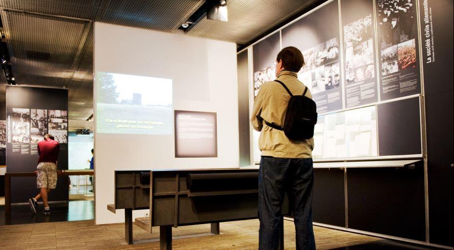 exposition permanente mémorial Shoah Paris